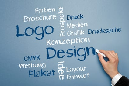 Logo und Design Tag Cloud